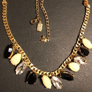 Kate Spade Gardens of Paris Stone Frontal Necklace
